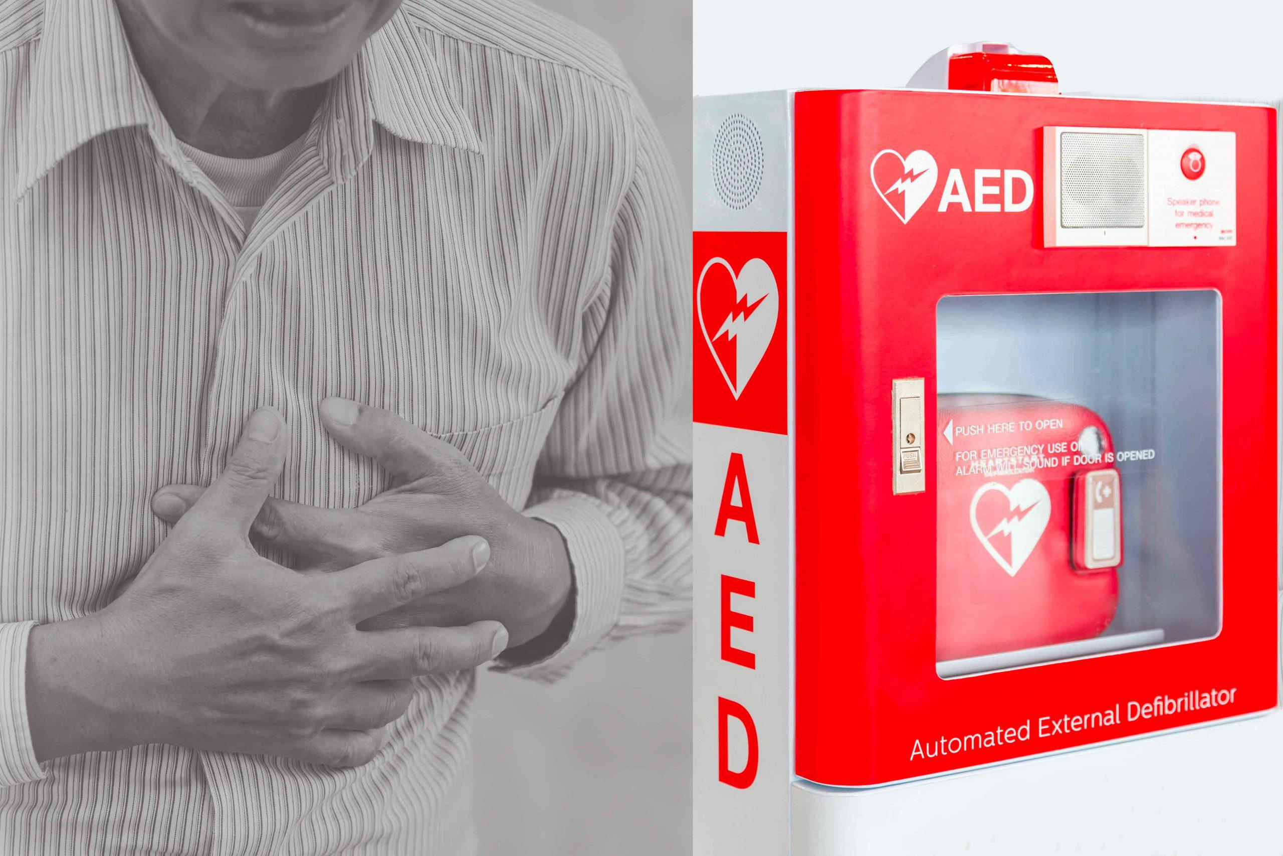 The importance of having an AED and accessories at home in Santa Ana